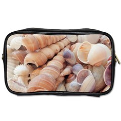 Sea Shells Travel Toiletry Bag (two Sides) by yoursparklingshop