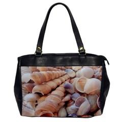 Sea Shells Oversize Office Handbag (one Side) by yoursparklingshop