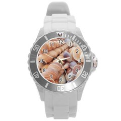 Sea Shells Plastic Sport Watch (large) by yoursparklingshop