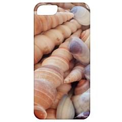 Sea Shells Apple Iphone 5 Classic Hardshell Case by yoursparklingshop