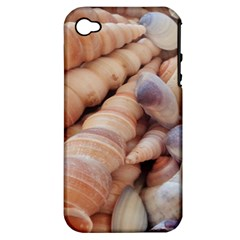 Sea Shells Apple Iphone 4/4s Hardshell Case (pc+silicone) by yoursparklingshop