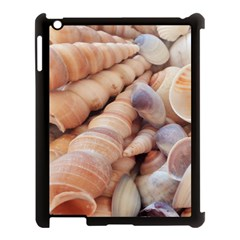 Sea Shells Apple Ipad 3/4 Case (black) by yoursparklingshop