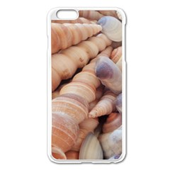 Sea Shells Apple Iphone 6 Plus Enamel White Case by yoursparklingshop