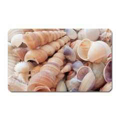 Sea Shells Magnet (Rectangular) by yoursparklingshop