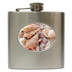 Sea Shells Hip Flask by yoursparklingshop