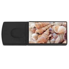 Sea Shells 2GB USB Flash Drive (Rectangle) by yoursparklingshop