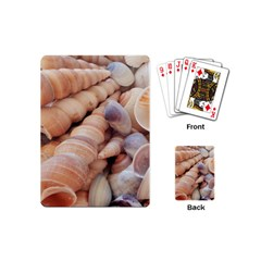 Sea Shells Playing Cards (mini) by yoursparklingshop