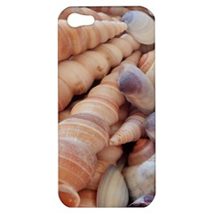 Sea Shells Apple Iphone 5 Hardshell Case by yoursparklingshop