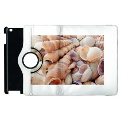Sea Shells Apple Ipad 2 Flip 360 Case by yoursparklingshop
