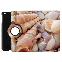 Sea Shells Apple Ipad Mini Flip 360 Case by yoursparklingshop