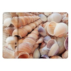Sea Shells Samsung Galaxy Tab 10 1  P7500 Flip Case by yoursparklingshop