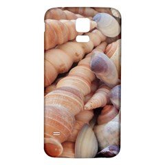 Sea Shells Samsung Galaxy S5 Back Case (white) by yoursparklingshop