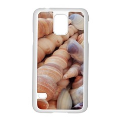 Sea Shells Samsung Galaxy S5 Case (white) by yoursparklingshop