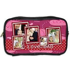 Dad By Dad   Toiletries Bag (two Sides)   Lhuy64fev8th   Www Artscow Com Back