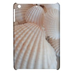 Sunny White Seashells Apple Ipad Mini Hardshell Case by yoursparklingshop
