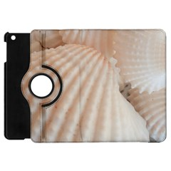 Sunny White Seashells Apple Ipad Mini Flip 360 Case