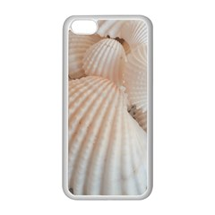 Sunny White Seashells Apple Iphone 5c Seamless Case (white) by yoursparklingshop
