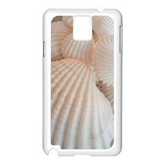 Sunny White Seashells Samsung Galaxy Note 3 N9005 Case (white) by yoursparklingshop