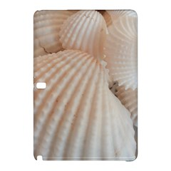 Sunny White Seashells Samsung Galaxy Tab Pro 10 1 Hardshell Case by yoursparklingshop