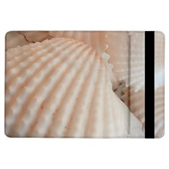 Sunny White Seashells Apple Ipad Air Flip Case by yoursparklingshop