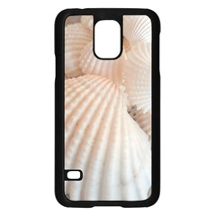 Sunny White Seashells Samsung Galaxy S5 Case (black)