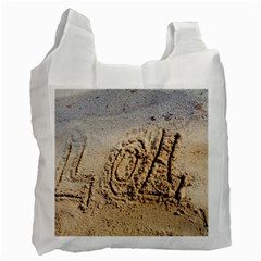 Lol White Reusable Bag (two Sides) by yoursparklingshop