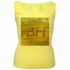 #bff Women s Tank Top (yellow) by yoursparklingshop