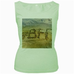#bff Women s Tank Top (green) by yoursparklingshop