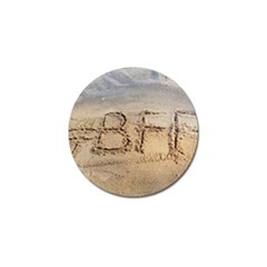 #bff Golf Ball Marker 4 Pack