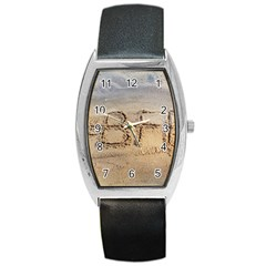 #bff Tonneau Leather Watch