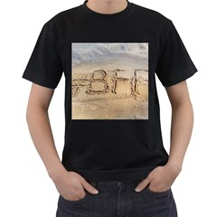 #BFF Men s Two Sided T-shirt (Black)