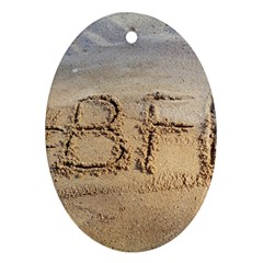 #bff Oval Ornament (two Sides)