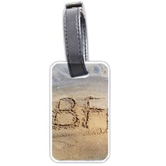#bff Luggage Tag (one Side) by yoursparklingshop