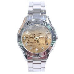 #bff Stainless Steel Watch by yoursparklingshop