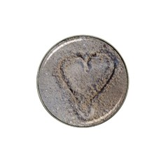 Heart In The Sand Golf Ball Marker 4 Pack (for Hat Clip) by yoursparklingshop