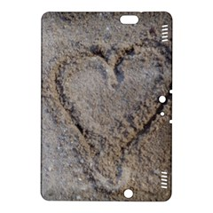 Heart In The Sand Kindle Fire Hdx 8 9  Hardshell Case by yoursparklingshop