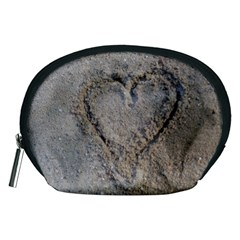 Heart In The Sand Accessory Pouch (medium)
