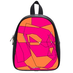 Red Orange 5000 School Bag (small) by yoursparklingshop