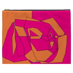 Red Orange 5000 Cosmetic Bag (xxxl)