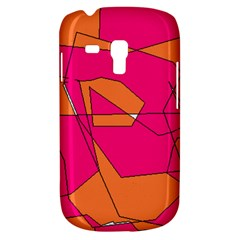 Red Orange 5000 Samsung Galaxy S3 Mini I8190 Hardshell Case