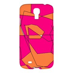 Red Orange 5000 Samsung Galaxy S4 I9500/i9505 Hardshell Case