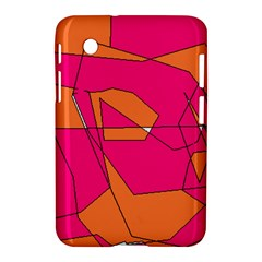 Red Orange 5000 Samsung Galaxy Tab 2 (7 ) P3100 Hardshell Case  by yoursparklingshop