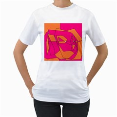 Red Orange 5000 Women s T Shirt (white)