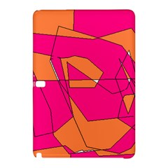 Red Orange 5000 Samsung Galaxy Tab Pro 12 2 Hardshell Case by yoursparklingshop
