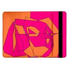 Red Orange 5000 Samsung Galaxy Tab Pro 12 2  Flip Case by yoursparklingshop