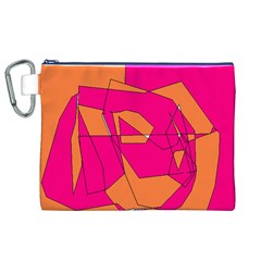 Red Orange 5000 Canvas Cosmetic Bag (xl) by yoursparklingshop