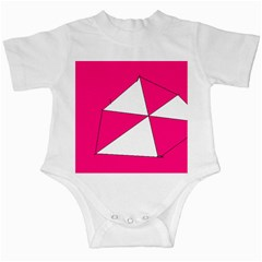 Pink White Art Kids 7000 Infant Bodysuit