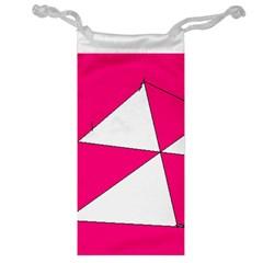 Pink White Art Kids 7000 Jewelry Bag