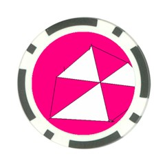 Pink White Art Kids 7000 Poker Chip