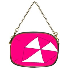 Pink White Art Kids 7000 Chain Purse (one Side)